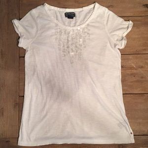 Polo Jeans Company clear sequence white t-shirt, M